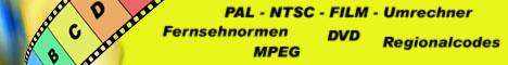 PAL NTSC FILM Umrechner